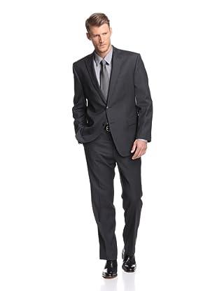 Calvin Klein Men's Malik Pinstripe Suit (Charcoal)