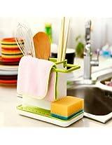 Kitchen Storage Racks Organizer Cabinet Sink Storage Space Saver
