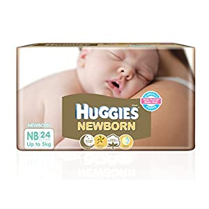 Huggies New Born Diapers (24 Count)