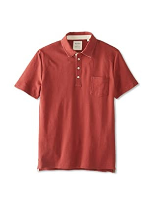 Billy Reid Men's Davidson Polo (Russet Red)