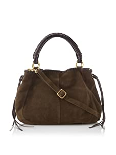 Linea Pelle Women's Willow Native Tote with Cross-Body (Dark Olive)