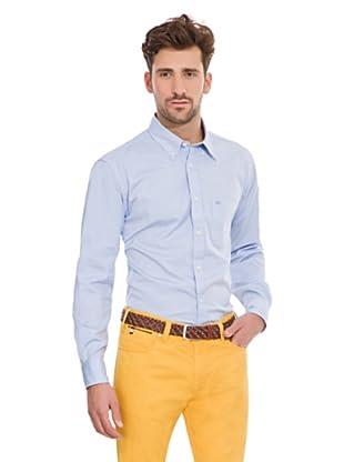 Pedro del Hierro Camisa Bolsillo (Azul)