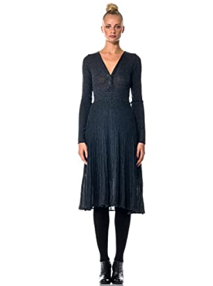 Eccentrica Vestido Trenzado (antracita)