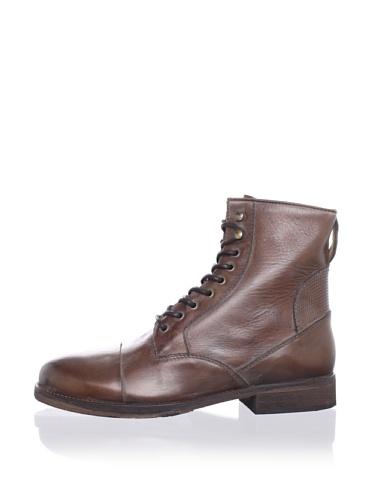 ksubi Men's Newman Lace-Up Boot (Tan Queimado)