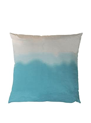 Surya Ombre Throw Pillow (Pastel Turquoise)