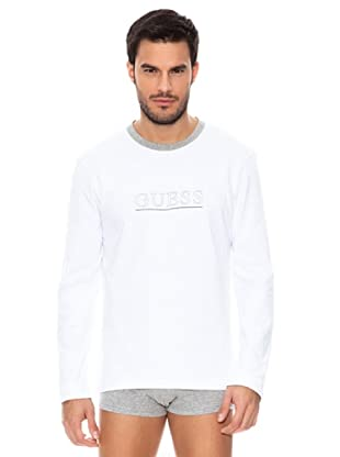 Guess Longsleeve (Grau, Weiß)