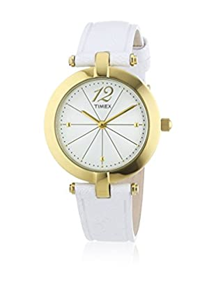 TIMEX Reloj de cuarzo Woman Greenwich Blanco 33 mm