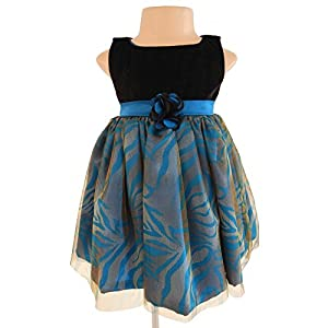 Faye Turquoise Blue Occasion Dress