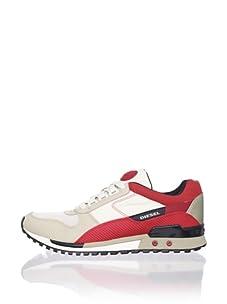 Diesel Men's High Speed Sneaker (Light Grey/Spray Grey)