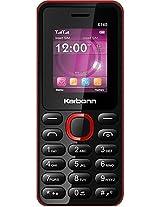 Karbonn K140 Black Red