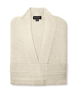 a & R Cashmere Wool & Cashmere Robe, Crème Fraiche, One Size