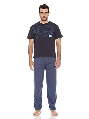 AS-MAN Pijama Verano (Petróleo)