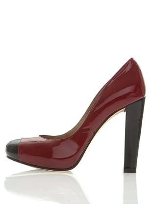 Magrit Zapatos Salón (Rojo / Negro)
