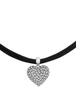 Saint Francis Crystals Halskette Made with Swarovski® Elements schwarz