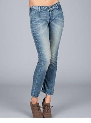 Levis Jeans Low Waist Skinny (Blau)