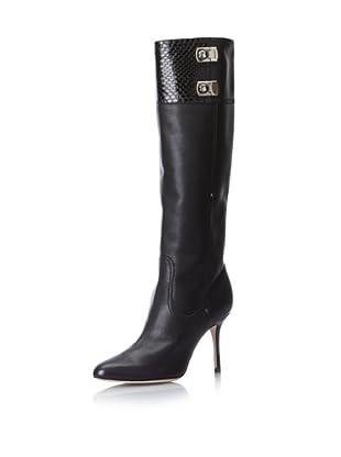 Jimmy Choo Women's Knee-High Heeled Boot (Black)
