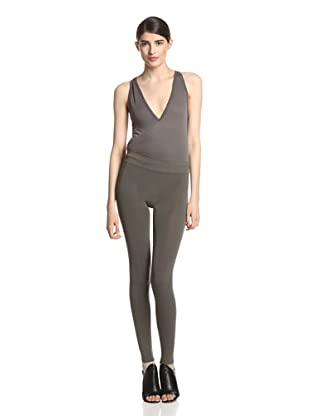 Rick Owens Lilies Women's Seamless Leggings (Dark Dust)