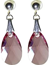 Pearl Paradise Elements Swarovski Crystal Stone Drop Earring