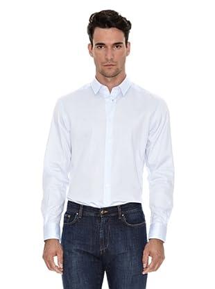 Versace Camisa Classic (Azul claro)