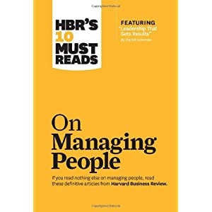 HBR's 10 Must Reads: On Managing People