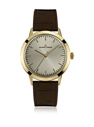 JACQUES LEMANS Quarzuhr Unisex Nostalgie N-1562 42 mm