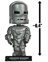 Iron Man Mark I Armor (Silver) ~6.4 Bobble-Head Figure