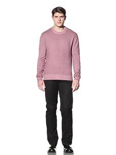 Cruciani Men's Crewneck Sweater (Viola)
