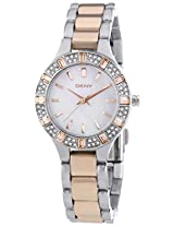 Dkny Analog Mother_Of_Pearl Dial Women's Watch - NY8812