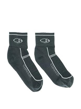 Icebreaker  Ib Socks Multisport (Oil/Silver/Oil)