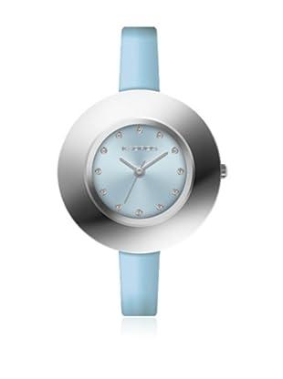 K&Bross 9188-5 Reloj de Señora movimiento de cuarzo con correa de plástico