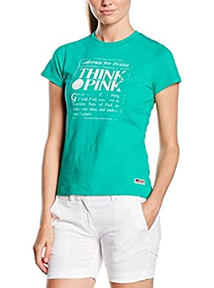 Think Pink Camiseta Manga Corta