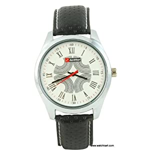 Lotto LTE-201 Classic (Embossed) White Men's Watch