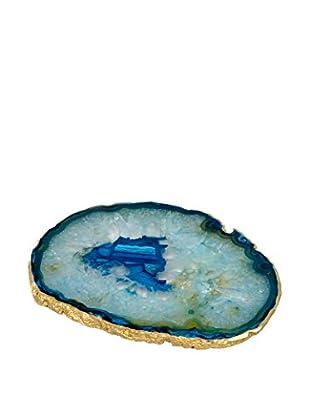 Mapleton Drive Blue Agate Wine Trivet