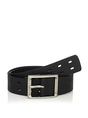 J.Campbell Los Angeles Men's Perforated Belt (Black)