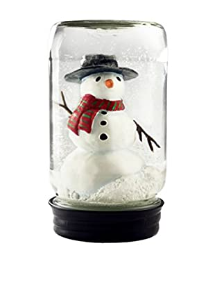 CoolSnowGlobes Snowman in Jar Snow Globe