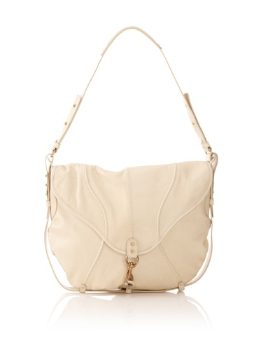Steven Alan Women's Leather Saddle Bag (White)