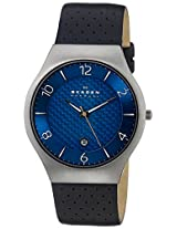 Skagen End-of-Season Grenen Analog Blue Dial Men's Watch - SKW6148