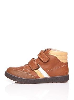 Pablosky Stiefel Streifen (hellbraun/elfenbein)