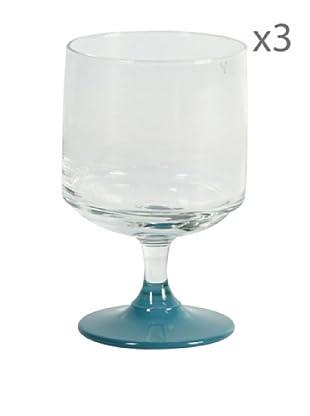 Delys by verceral Lote De 3 Copas Para Agua