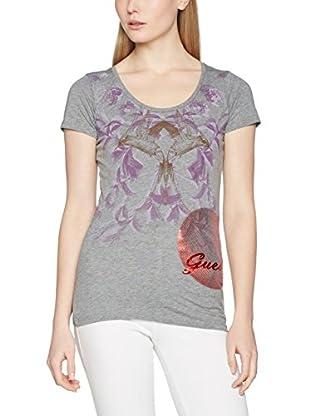 Guess T-Shirt Rn Ss Oriental Logo