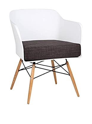 LO+DEMODA Sessel Bantra Wood Blanco