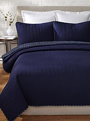 Nautica Maywood Quilt Set (Blue)