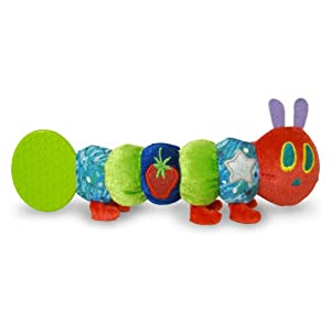Kids Preferred the World of Eric Carle the Very Hungry Caterpillar Teether Rattle