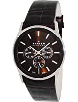 Skagen Analog Brown Dial Men's Watch - SKW6001