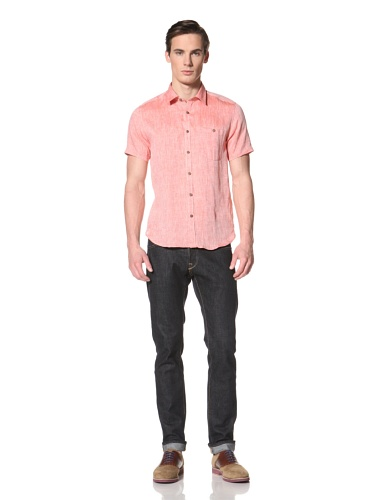 Ted Baker Men's Ponda Button-Up Shirt (Red)