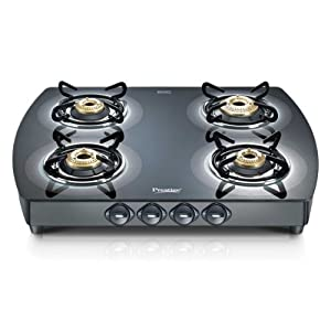 Prestige Glass Top Stove GTS 04 Designer