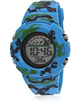 Fs206-L.Bl01 Blue/Black Digital Watch