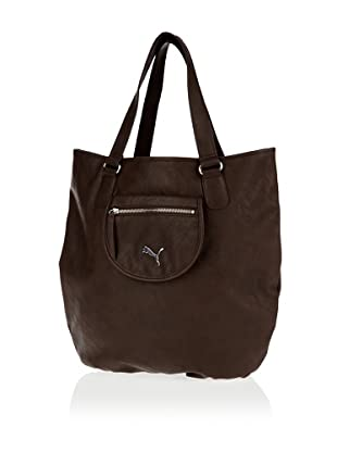 Puma Damen Handtasche Allure Shopper, 4.5 liters (Brown)