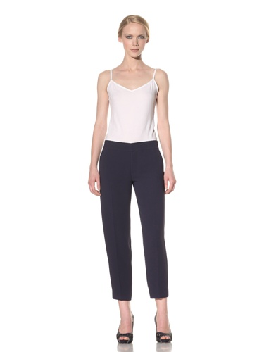 Rachel Roy Women's Crop Pant (Deep Sea Blue)