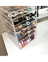Cosmetix Cube Fancy Storage Box Organizor (HD)